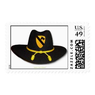 los 1ros sellos de Fort Hood de la caballería