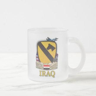 los 1ros veteranos de guerra del cav del aire de l tazas de café