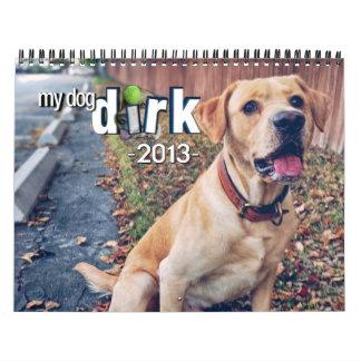 """Los 2013 calendarios de """"mi Dirk del perro"""""""