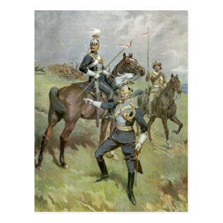 Los 21ros lanceros - ejército británico tarjetas postales