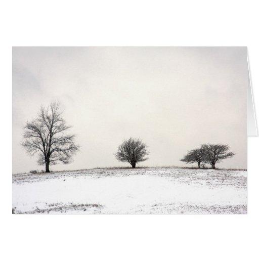 los 3 árboles felicitaciones