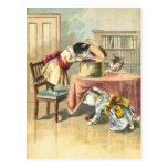 Los 3 pequeños gatitos: Búsqueda para las manoplas Postal