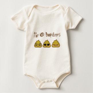 Los 3 Poopiteers Body De Bebé