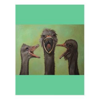 Los 3 tenores postales