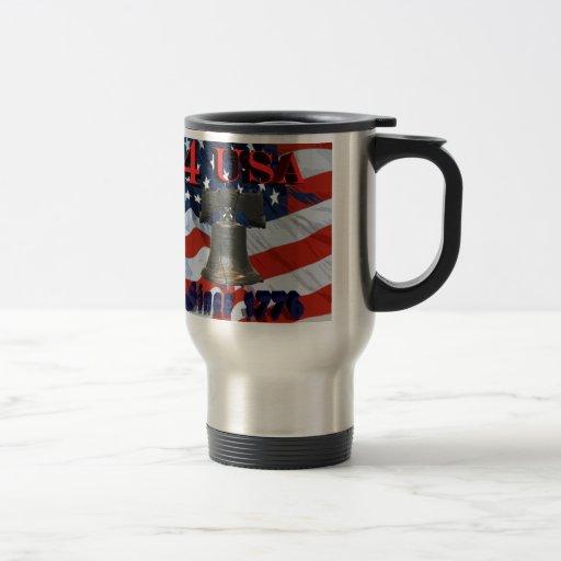 Los 4 E.E.U.U. desde 1776 Tazas De Café