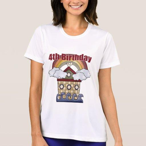 Los 4tos regalos de cumpleaños de la arca tshirt