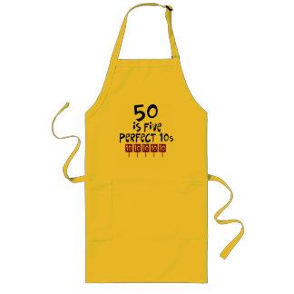 ¡los 50 os regalos de cumpleaños 50 son 5 10s per delantales