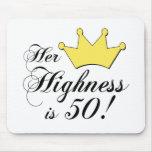 ¡los 50.os regalos de cumpleaños, su alteza son 50 tapetes de raton