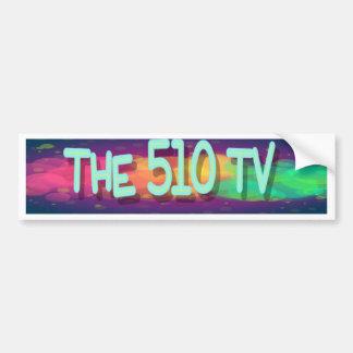 Los 510 TV Pegatina Para Auto