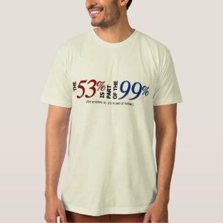 Los 53, los 99 y el 1 polera