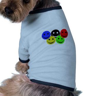 los 5 smiley camisa de perrito