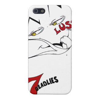 Los 7 Deadlies - caso del iPhone 4 de la lujuria iPhone 5 Protectores