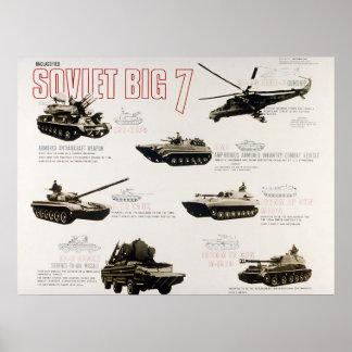Los 7 grandes soviéticos impresiones