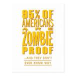 los 95% de americanos son prueba del zombi postal
