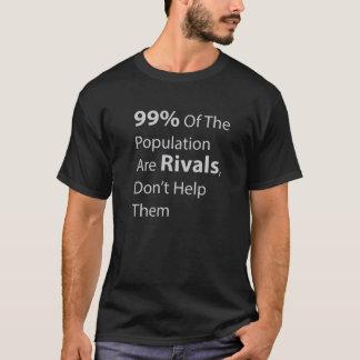 Los 99% de la población son rivales, no les ayudan playera