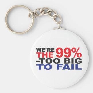 Los 99 - Demasiado grande fallar Llavero