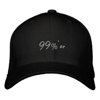los 99% er ocupan oscuridad del casquillo de Wall  Gorra De Beisbol Bordada