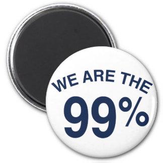 Los 99% son nosotros iman de frigorífico