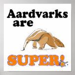 los aardvarks son estupendos impresiones