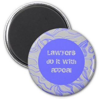 los abogados lo hacen con súplica imán redondo 5 cm