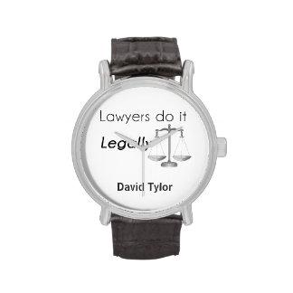 ¡Los abogados lo hacen Reloj