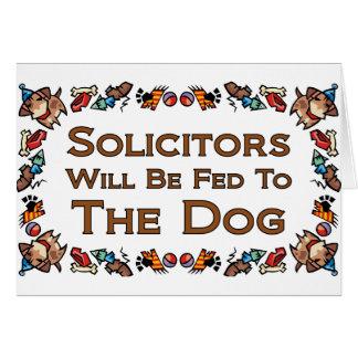 Los abogados serán FED al perro Felicitación
