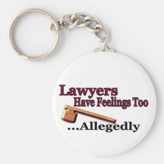 Los abogados tienen llavero de las sensaciones tam