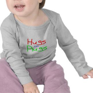 Los abrazos no tapan (el rojo) camisetas