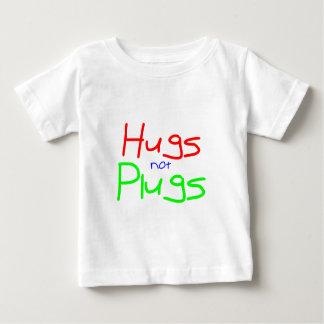 Los abrazos no tapan (el rojo) playera de bebé
