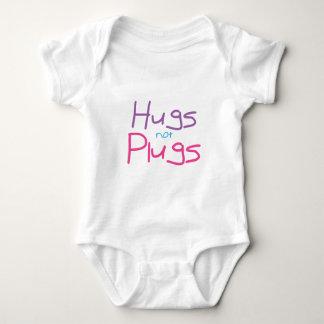 Los abrazos no tapan (el rosa) body para bebé