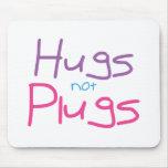 Los abrazos no tapan (el rosa) alfombrilla de ratón