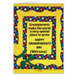 Los abuelos hacen el mundo un lugar especial… felicitacion