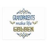 Los abuelos hacen vida de oro postal