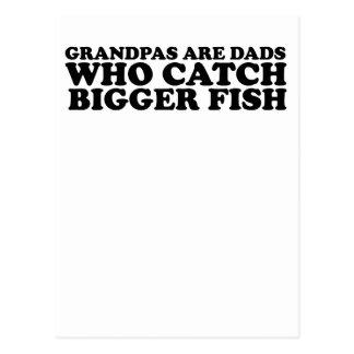 Los abuelos son los papás que cogen camisetas más  postal