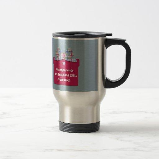 Los abuelos son regalos hermosos de dios taza de café
