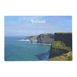 Los acantilados de Irlanda de Moher Tapete Individual