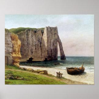 Los acantilados en Etretat 1869 Impresiones