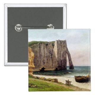Los acantilados en Etretat, 1869 Pins