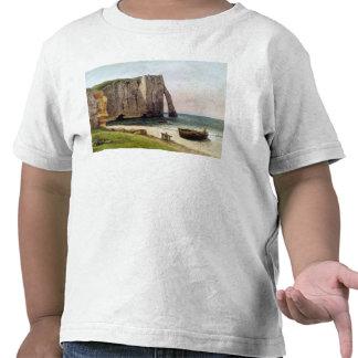 Los acantilados en Etretat 1869 Camisetas