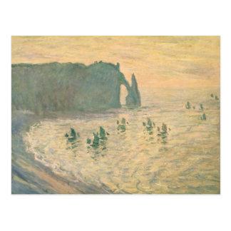 Los acantilados en Etretat, 1886 Postales