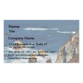 Los acantilados encendido ven tarjetas de visita