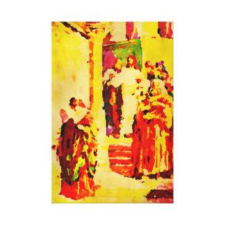 Los ácaros de la viuda lienzo envuelto para galerías