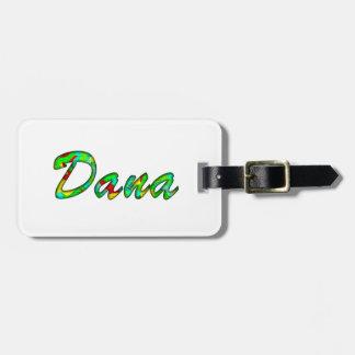 Los accesorios de Dana Etiqueta De Maleta
