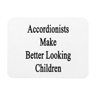 Los acordeonistas hacen a niños más apuestos imanes rectangulares