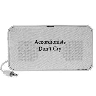 Los acordeonistas no lloran mini altavoz