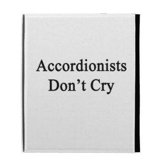 Los acordeonistas no lloran