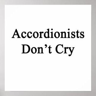 Los acordeonistas no lloran impresiones