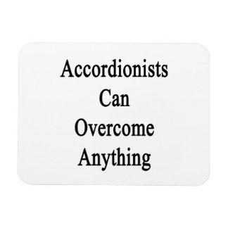 Los acordeonistas pueden superar cualquier cosa imanes rectangulares