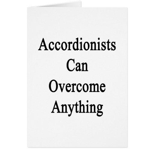 Los acordeonistas pueden superar cualquier cosa felicitacion