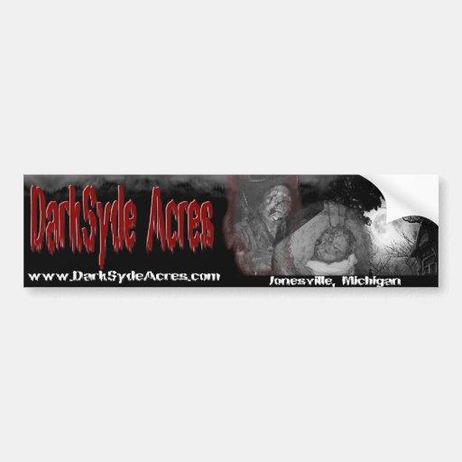 Los acres de DarkSyde frecuentaron la pegatina par Pegatina De Parachoque